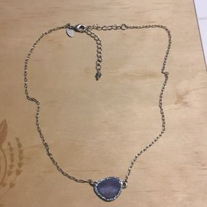 Lia Sophia Blue Pendant